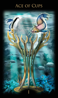 Ace of Cups, copyright Ciro Marchetti & Llewellyn Publications